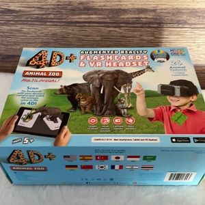 BRAND NEW IN THE BOX 4D VR Animal Zoo STEM Game
